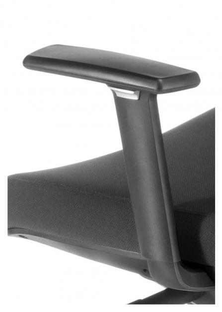 Silla de oficina ergonómica giratoria Chicago detalle brazo ajustable