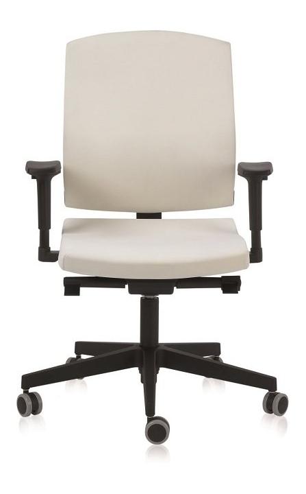 Silla de oficina ergonómica Flexa de Dile Office color Beige o blanco