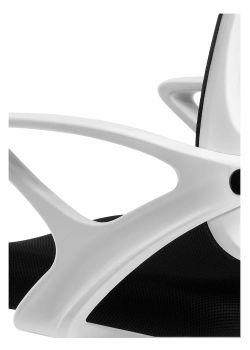 Silla de oficina económica giratoria ergonómica París detalle del posabrazo