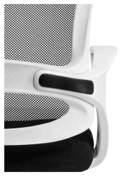 Silla de oficina económica giratoria ergonómica París detalle del respaldo
