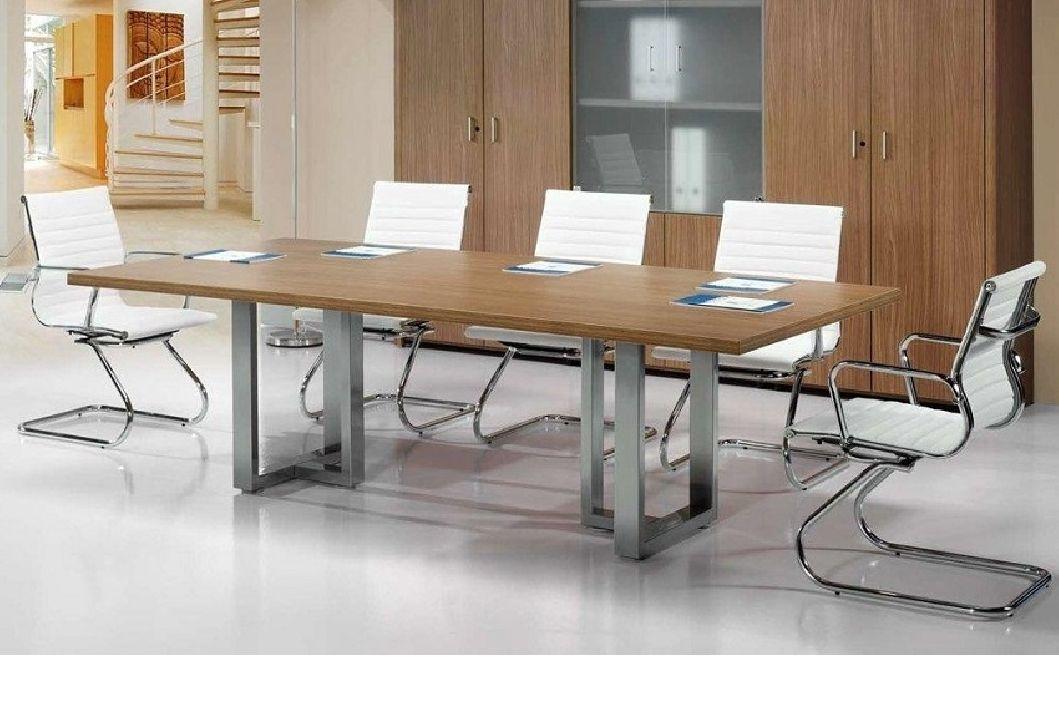 Mesa de reuniones Volga, rectangular de Euromof.
