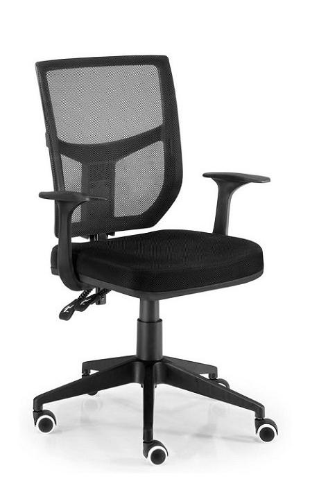 Silla de oficina Roma color negro ergonómica