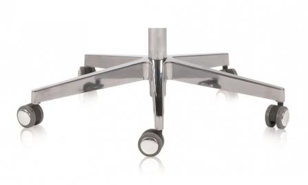 Base plana de Aluminio para silla de oficina