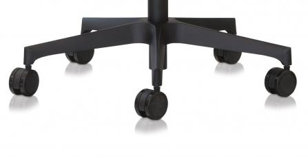 Base plana Negra para silla de oficina