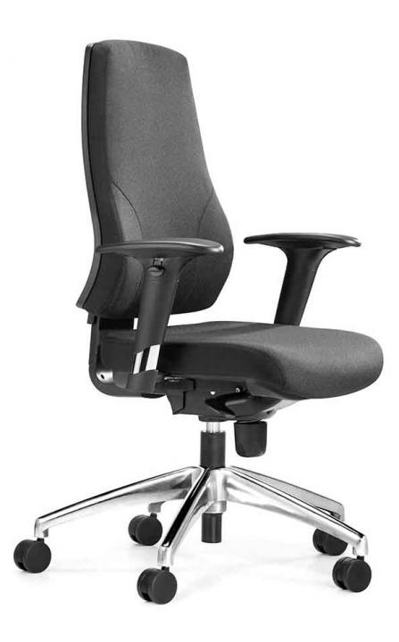 Silla de oficina, silla operativa N1 Herpesa