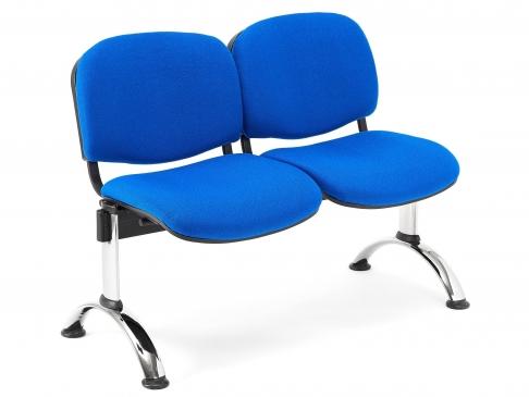 Bancada de oficina para sala de espera ISO P4 de 2 plazas DE SEIMSA