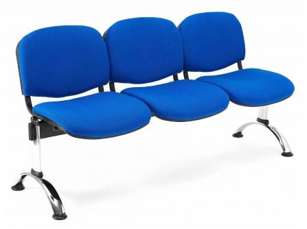 Bancada de oficina para sala de espera ISO P4 de 3 plazas DE SEIMSA