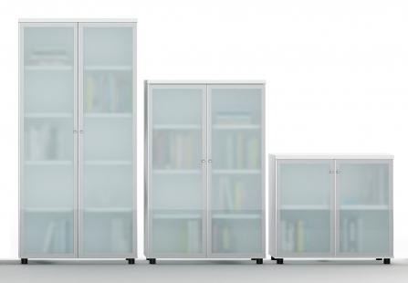 Armarios de oficina puertas de cristal de Ismobel Office Plus