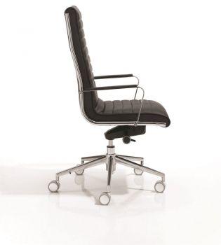 Silla Giratoria de Oficina Direccional  Trinity  vista 3 mueble de oficina
