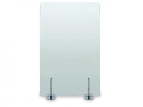 Biombo de Cristal CR Tranparente de Muebles de Oficina Officinca