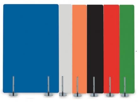 Biombo de cristal para oficina de Muebles de Oficina Officinca. Colores disponibles