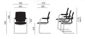 Diagrama de silla confidente Oxford