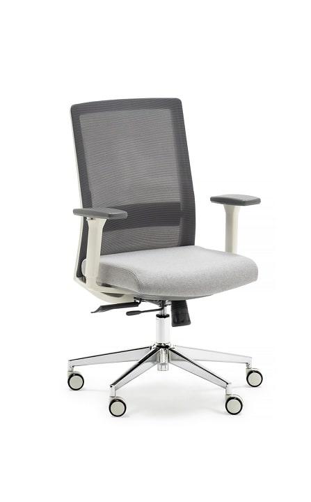 Moderna silla de líneas suaves y estilizadas, con mecanismos de nueva generación que otorga un óptimo y prolongado confort.