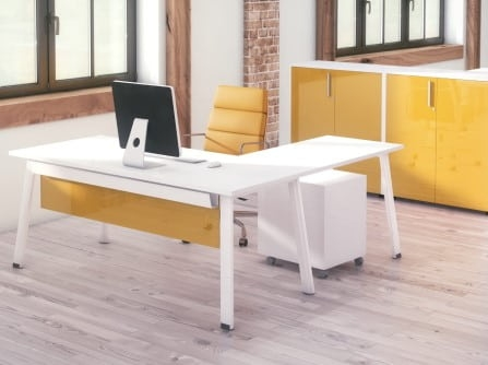 Mesa para oficina con ala Extreme Plus. Officinca