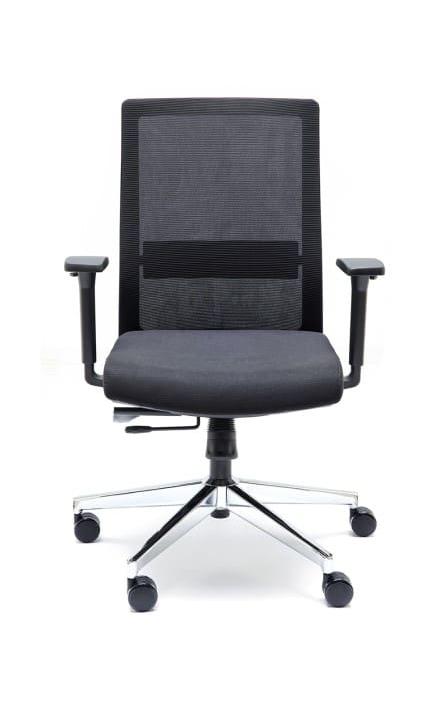 Silla de diseño moderno y estilizado, con mecanismos de nueva generación para óptimo y prolongado confort.