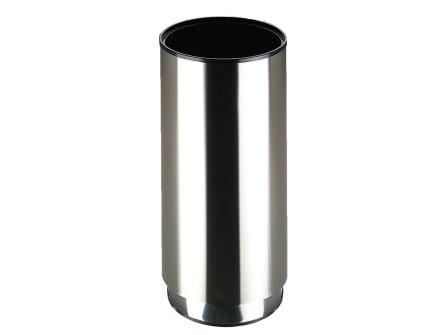 Paragüero Steel de acero inoxidable satinado