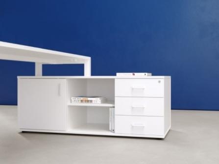 Mueble auxiliar Nix para escritorios de oficinas
