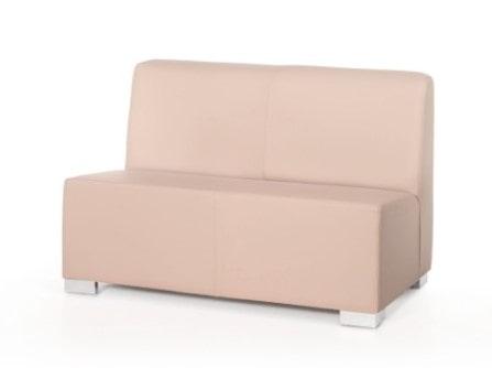 Sofá  de oficina Park con doble plaza