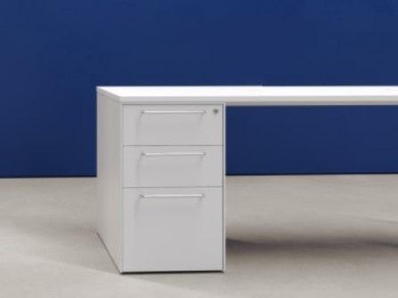 Mueble pedestal Buck Heos de 3 cajones para escritorios de oficinas