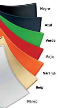 Carta de colores de bancada de oficina para sala de espera  SHELL de 4 plazas DE SEIMSA