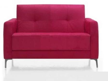 Sofa para oficina o consultorio Astoria de 2 plazas tapizado Dile Office