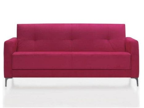 Sofa para oficina o consultorio Astoria de 3 plazas tapizado Dile Office