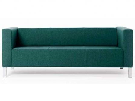 Sofa de tres plazas para oficina