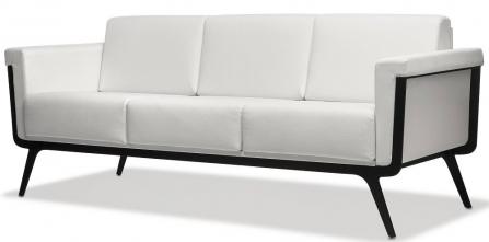 Sofá Astoria 3 plazas de Ismobel color Blanco para Oficina o consultorio