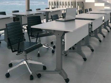 Mesa plegable y apilable Ofitres
