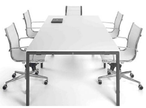 Mesa de reuniones IPOP en varios tamaños de Ofitres