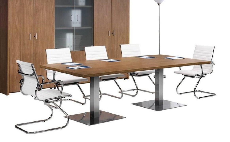 Mesa de reuniones rectangular Loma
