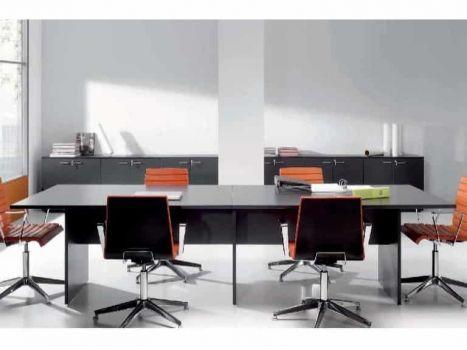 Mesa de reuniones New Pano Recta de Ofitres