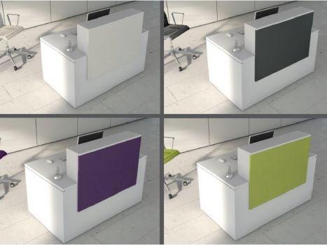 Mostrador de recepción New Pano de Ofitres varios modelos