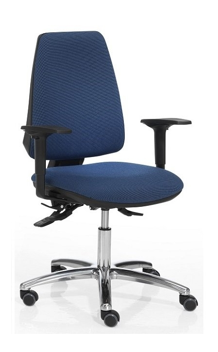 Silla de oficina barata color azul