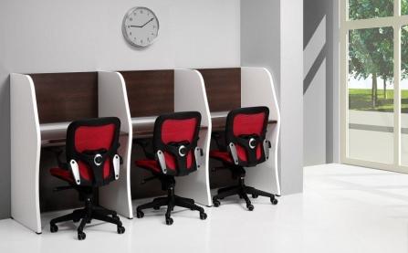 Muebles para centros de atención telefónica