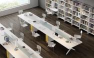 Venta de Mesas de Coworking Bench de varias plazas al Mejor Precio