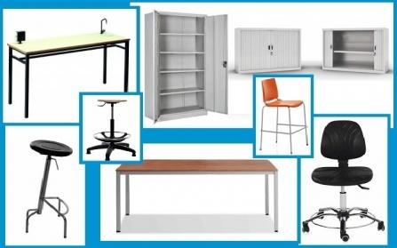 Muebles para uso en laboratorios de cualquier tipo