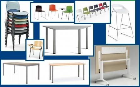 Muebles para colectividades, conferencias o cursos