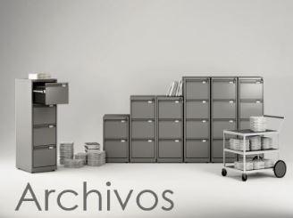 Archivos, Archivadores y Cajoneras