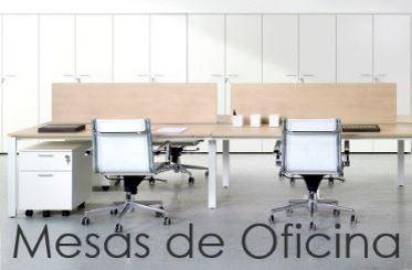 Mesas de Oficina, individuales o coworking