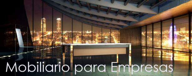 Mobiliario para empresas, entes públicos y asociaciones.