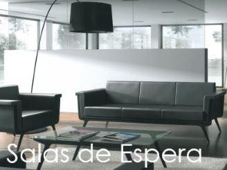 Salas de espera, sofas y bancadas.
